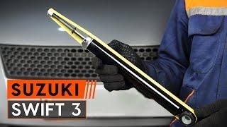 Montavimo Rėmas, stabilizatoriaus tvirtinimas SUZUKI SWIFT III (MZ, EZ): nemokamas video
