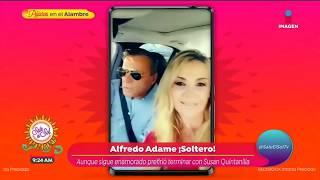 ¡Alfredo Adame revela por qué 'tronó' su relación con Susan Quintanilla! | Sale el Sol