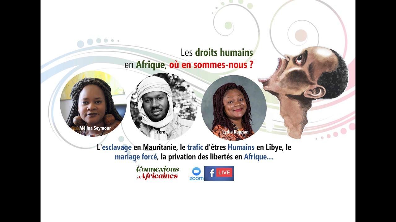 Droits humains en Afrique, où en sommes-nous ?