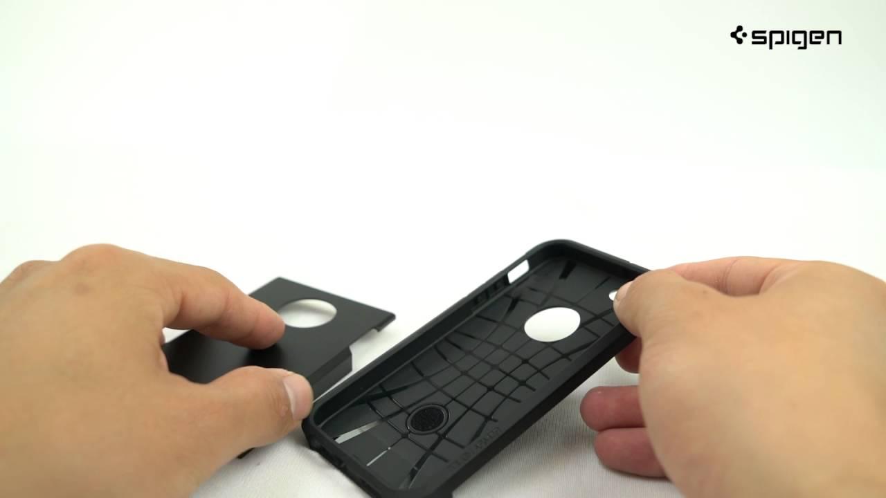 Spigen Tough Armor Case for iPhone SE - YouTube 871efcc46957d
