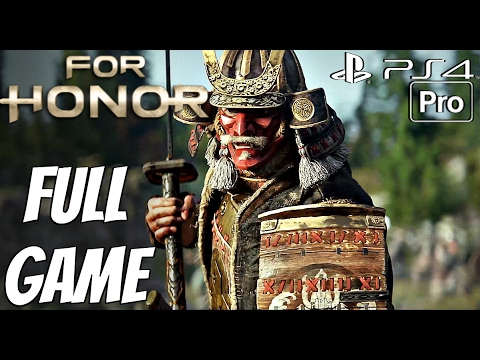 For Honor - Gameplay Walkthrough Part 1 - FULL GAME Campaign Story Mode PS4 PRO