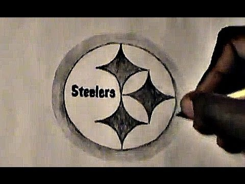 How To Draw Pittsburgh Steelers Logo Youtube