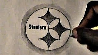 HOW TO DRAW: Pittsburgh Steelers logo