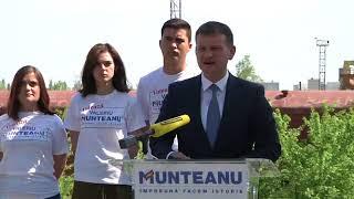 Candidatul PL Valeriu Munteanu, conferinţă din 26 aprilie 2018