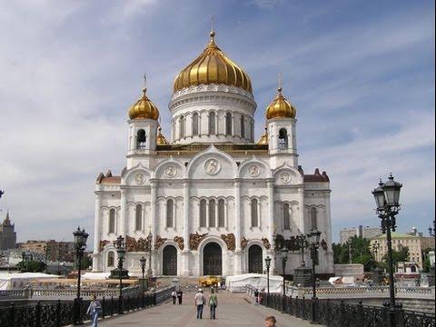 Ectenia întreită în Catedrala Patriarhală din Moscova (1)
