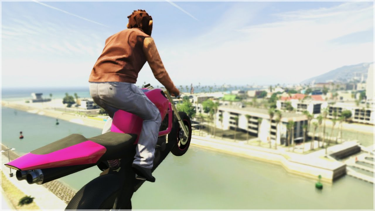 GTA 5 STUNTS are BACK! Thank you R*! thumbnail