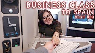 VLOG 003: Pengalaman Terbang ke Spanyol dg Business Class - ANAKJAJAN.COM