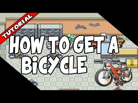 How To Get A Bicycle On Pokemon Fire Red