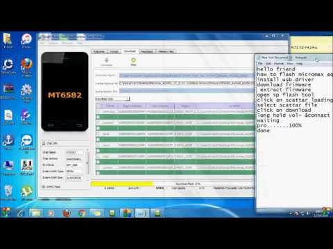 how to flashing micromax AQ4501