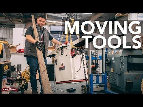 7 Ways To Move Heavy Tools And Equipment