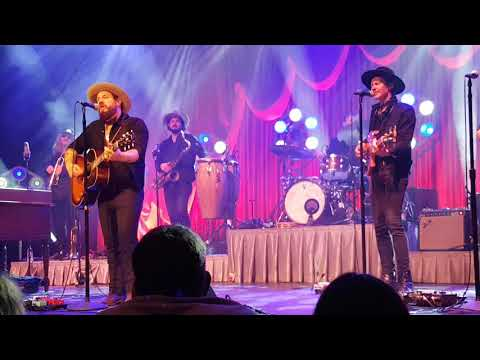 Nathaniel Rateliff and the night sweats cover of Bruce Springsteen Atlantic City Dublin April 2018