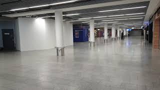 프랑크푸르트 공항이. 공황이네요