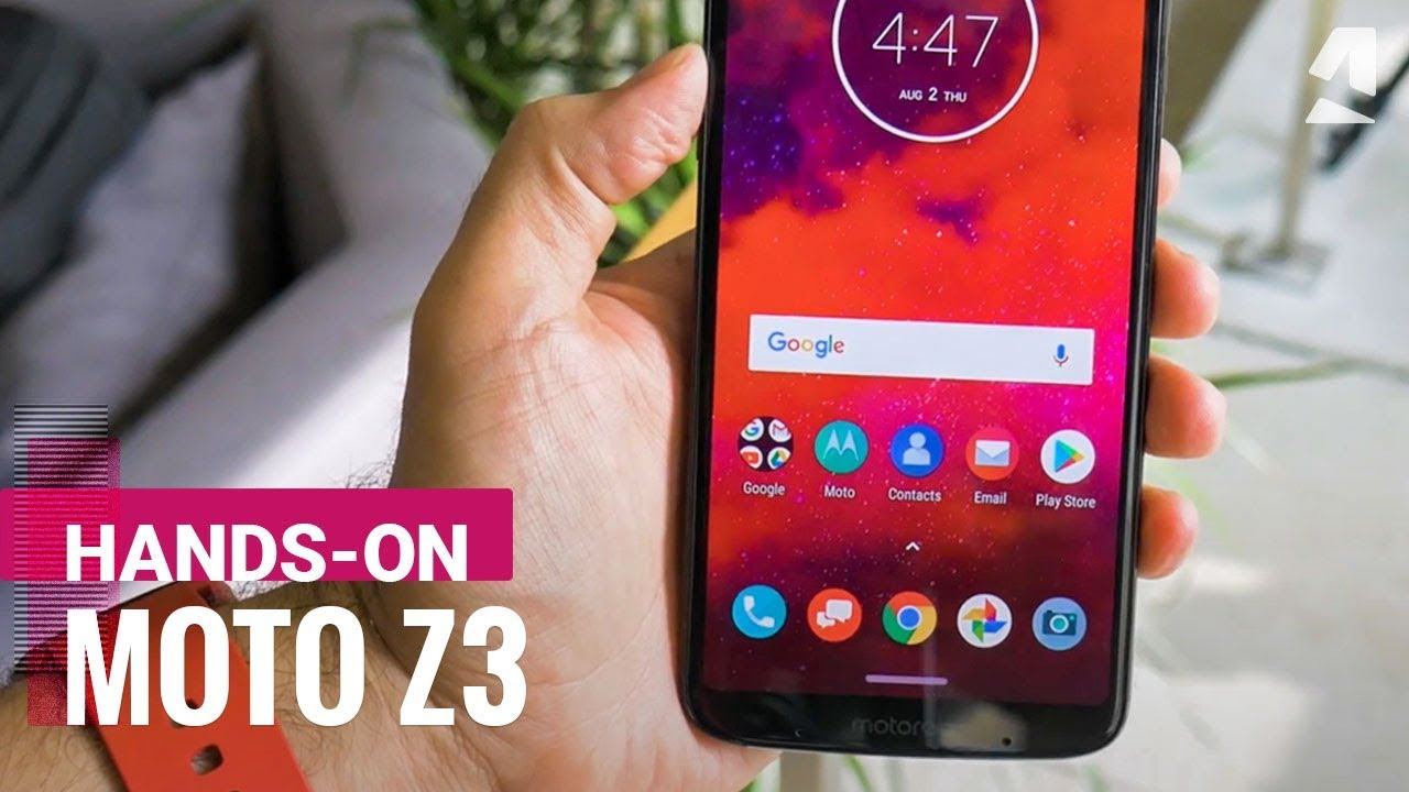 Motorola Moto Z3 - Full phone specifications