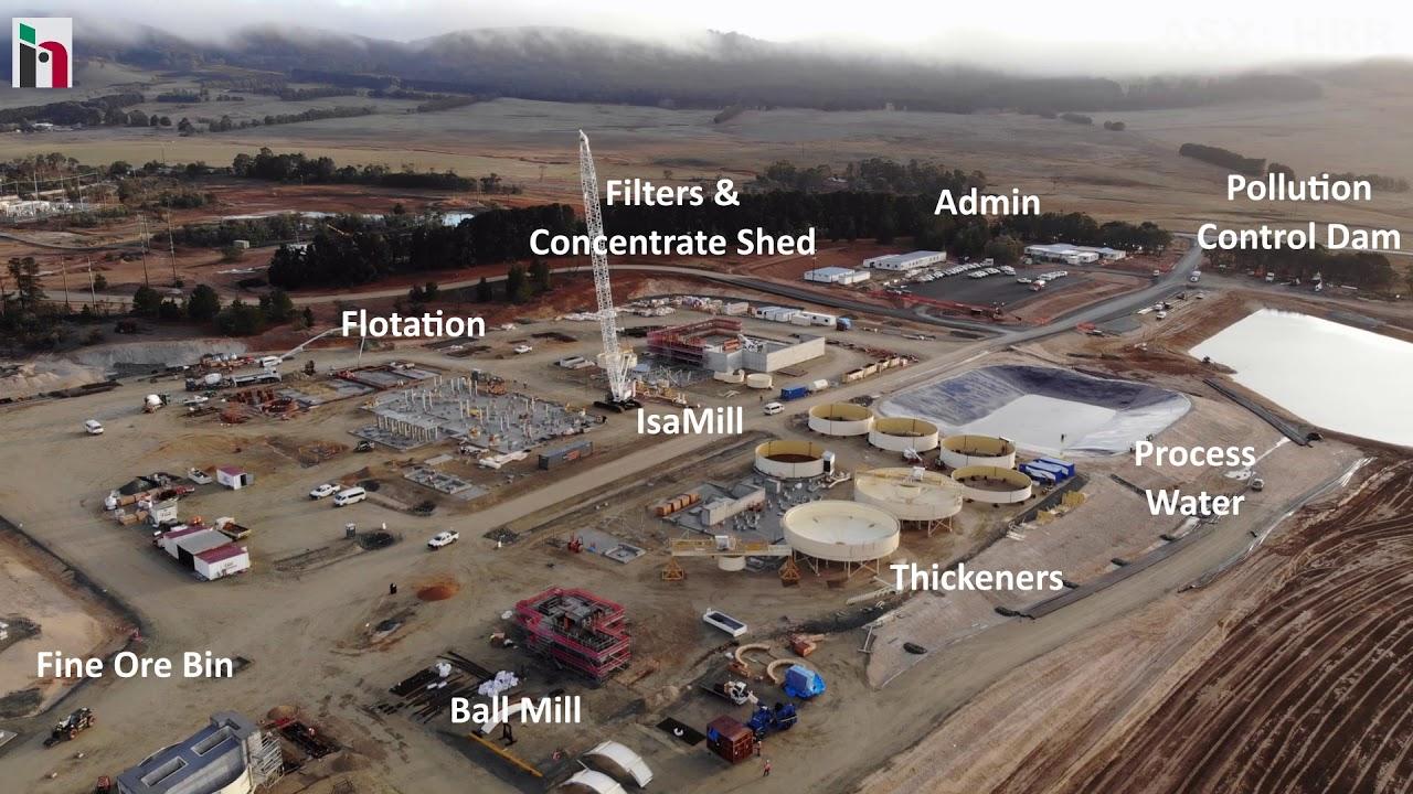 Woodlawn Mine Site Construction, June 2018