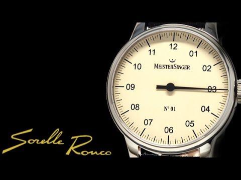 MeisterSinger N°01 Single Handed mechanical watch
