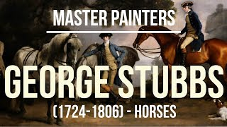 George Stubbs - Horses (1724-1806) A collection of paintings of horses 4K Ultra HD