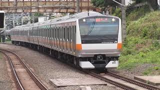 中央線E233系ホリデー快速おくたま・あきがわ西国分寺駅通過!
