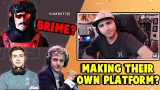 Summit1g Reacts: Shroud & Ninja Creating New Streaming Platform? + Brime New Streaming Platform?