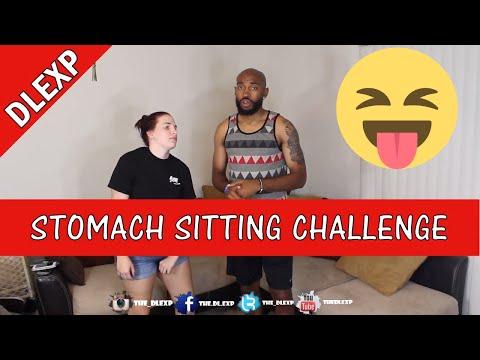 STOMACH SITTINGCHALLENGE!!!