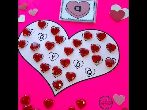 Preschool Valentines Crafts And Activities
