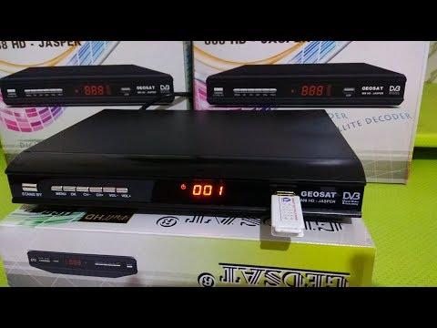 Cara Upgrade Receiver Geosat Jasper 888 HD