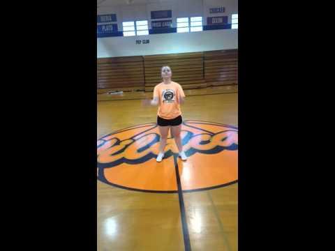 Licking High School Cheer Tryouts 2016 Individual Floor Cheer