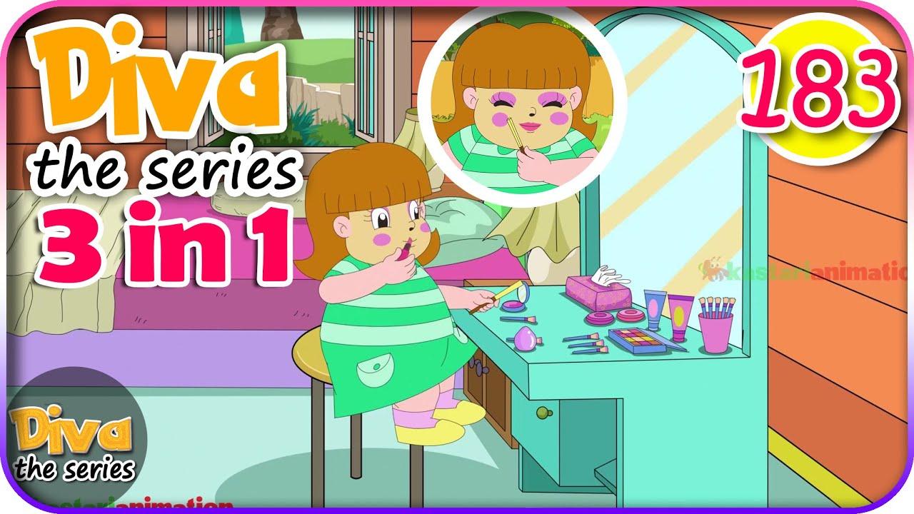 Seri Diva 3 in 1 | Kompilasi 3 Episode ~ Bagian 183 | Diva The Series Official