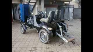 самодельный мини трактор (продажа) Україна