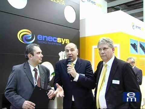 Bernd Kohlstruck Direttore Generale Enecsys Europe   Marco Achilli Managing Partner EnergyLink
