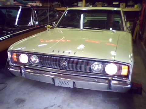 1966 Dodge Charger Rotating Headlights Part 1 Youtube