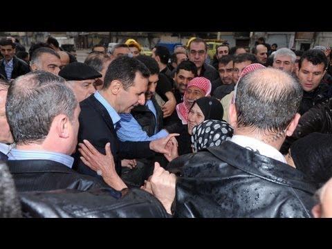 Башар Асад прогулялся