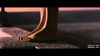 closeup of Sarah Michelle Gellar's feet