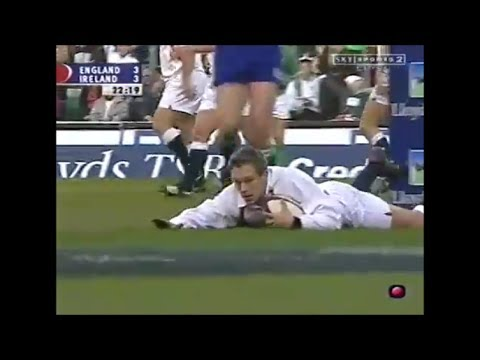 Jonny Wilkinson playmaking at his very very best vs Ireland 2002