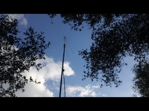 Home antenna mast build for self reliance. Part Two.