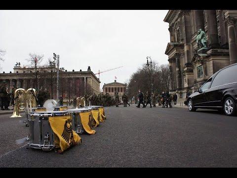 State funeral of German president von Weizsäcker