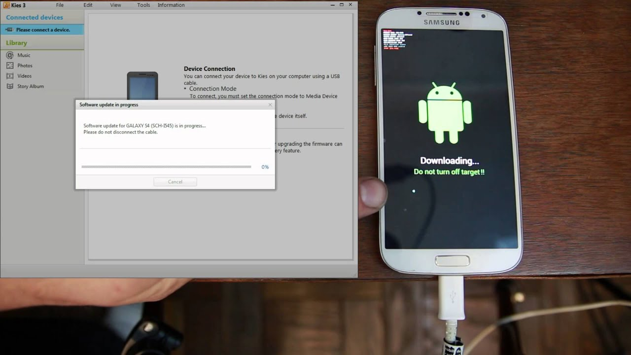 c156d493a0a How to Unbrick or Restore your Samsung Firmware with Kies, Universal Method  works on all devices