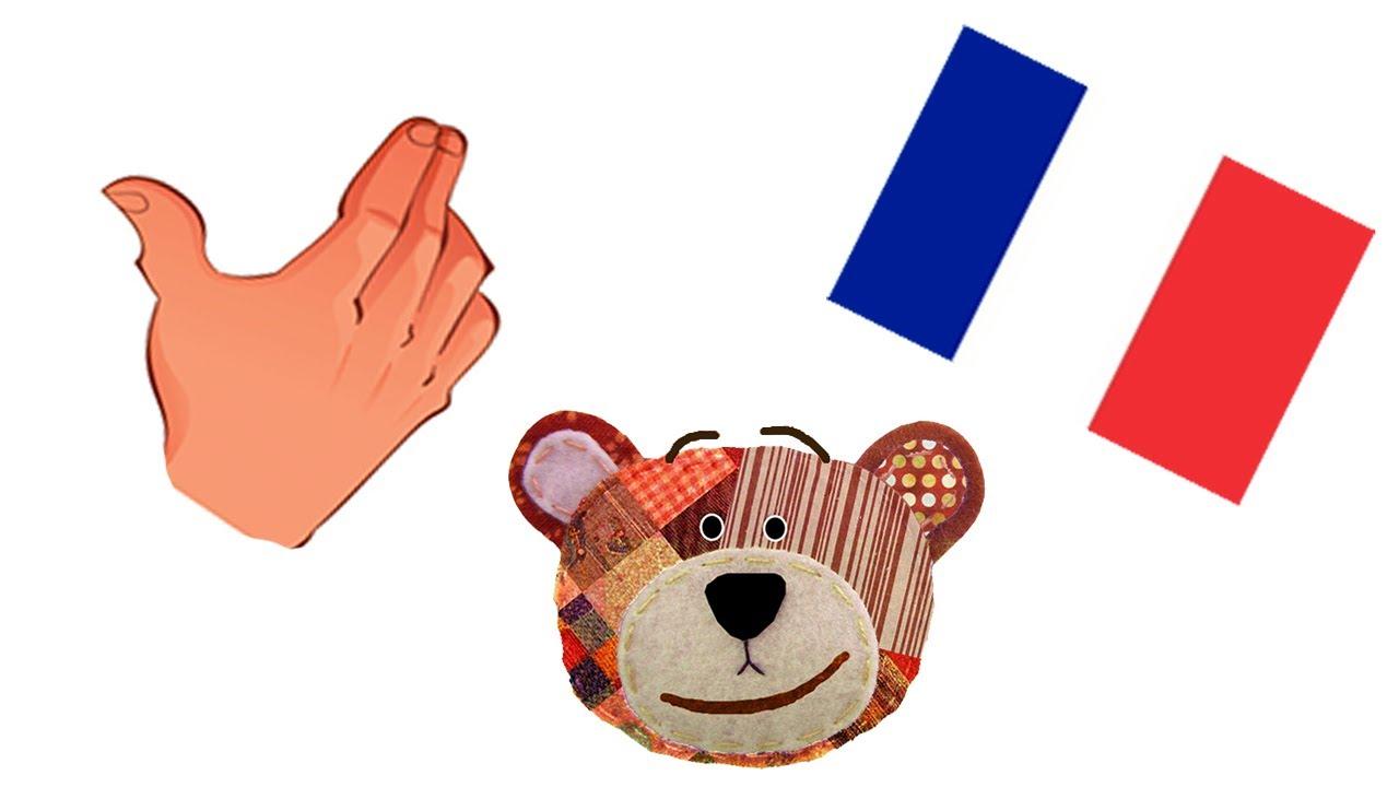 El cuerpo humano - Francés para niños