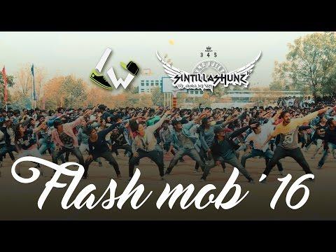Sintillashunz '16 Flash Mob @ VNRVJIET