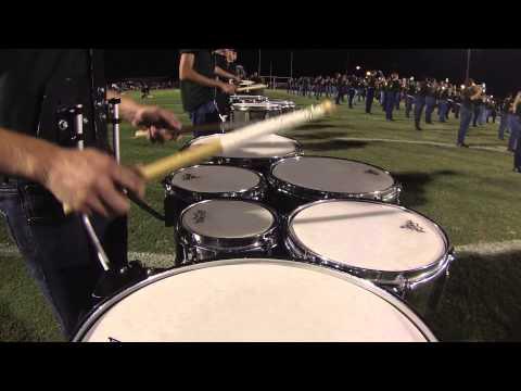 Fleming Island High School Marching Band 8/29/2014