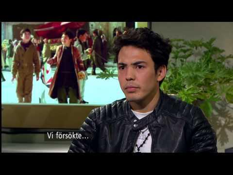 Hyllades för rollen i filmen Flyga drake som tvingade honom på flykt - Malou Efter tio (TV4)