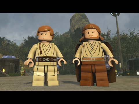 Unused and Custom Characters Showcase – LEGO Star Wars: the Force Awakens