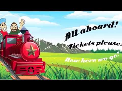 The BeatBuds SingAlong Books  All Aboard!