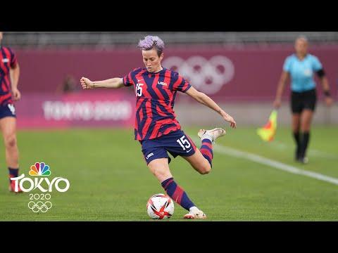 Megan Rapinoe, Carli Lloyd lead U.S. women to soccer bronze medal win