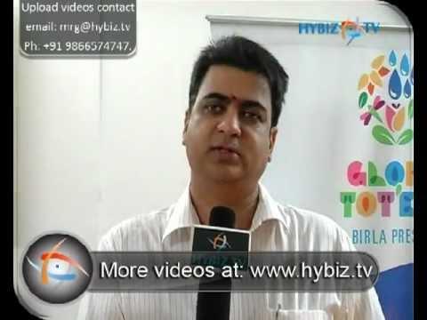 N. Srikrishna, CEO, Birla Edutech Ltd., Globe Tot'ers, Gachibowli, Hyderabad - hybiz.tv