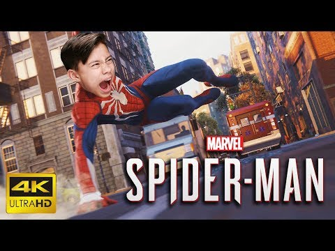 DON'T GO IN THE WATER!!! Evan Plays SPIDER-MAN on PS4 PRO!