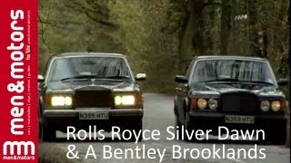 Classic Rolls Royce Silver Dawn and a Bentley Brooklands