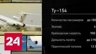 видео Самолет Ту-154 с артистами и журналистами потерпел крушение в Черном море