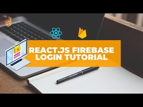 ReactJS Firebase Authentication Tutorial - Login Tutorial