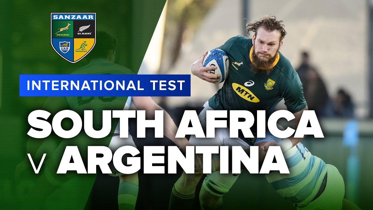 South Africa v Argentina | 2019 International Test Highlights