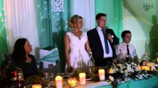 слова благодарности  на свадьбе 13 06 2015 ресторан Галерея Премиум